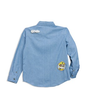 Sovereign Code - Boys' PAW Patrol© Patch Printed Chambray Shirt, Little Kid - 100% Exclusive