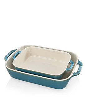 Staub - Ceramic Rectangular Baking Dish 2-Piece Set