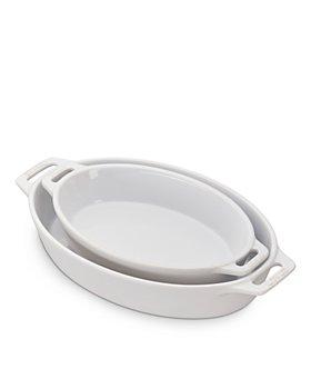 Staub - Ceramic Oval Baking Dish 2-Piece Set