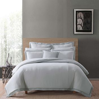 Charisma - Luxe Cotton & Linen Comforter Set, Full/Queen