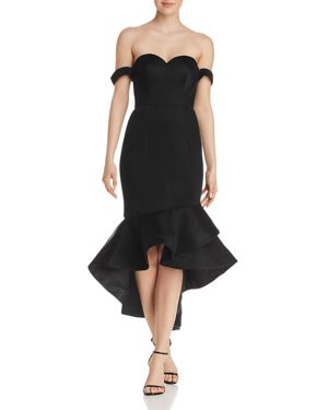 BARIANO OFF-THE-SHOULDER SWEETHEART DRESS - 100% EXCLUSIVE