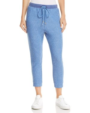 Cropped Sweatpants, Blue