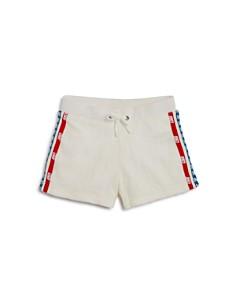Juicy Couture Black Label Girls' Logo-Textured Velour Shorts - Big Kid - Bloomingdale's_0