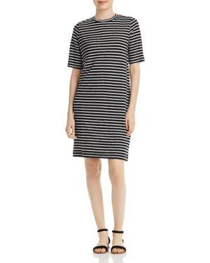 Eileen Fisher Petites Organic-Linen Striped Dress 2978462