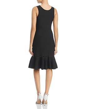 NIC and ZOE - Cutout Ruffle-Hem Dress