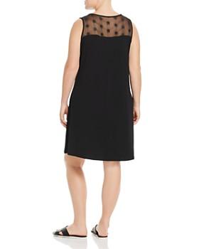 VINCE CAMUTO Plus - Embellished Yoke Shift Dress