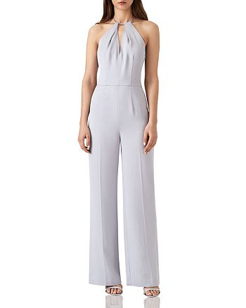 240b9196710 REISS - Carta Halter Jumpsuit