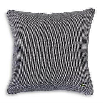 """Lacoste - Knit Decorative Pillow, 18"""" x 18"""""""