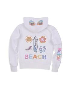 Butter Girls' Embellished Beach Surf Fleece Hoodie - Little Kid - Bloomingdale's_0