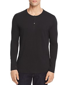 ATM Anthony Thomas Melillo Long Sleeve Henley - 100% Exclusive - Bloomingdale's_0