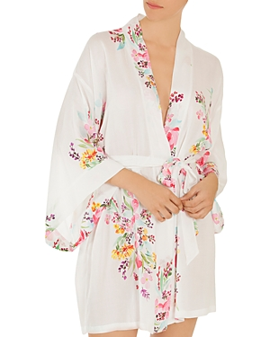 In Bloom By Jonquil FLORAL WRAP ROBE