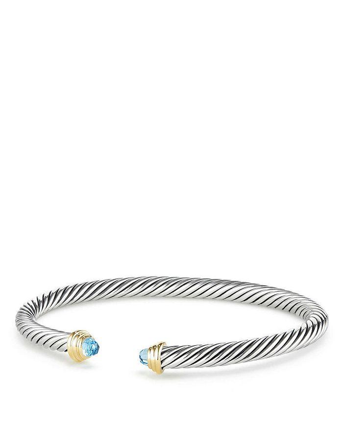 David Yurman - Cable Kids Birthstone Bracelet with 14K Gold