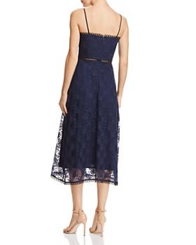 SAU LEE - Brielle Floral-Embroidered Dress