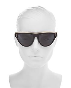 Moschino - Women's 002 Round Sunglasses, 56mm