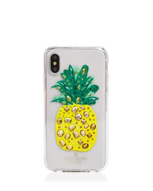 kate spade new york Jeweled Pineapple iPhone X Case 2977906