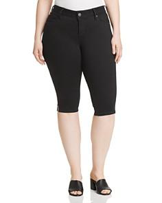 SLINK Jeans Plus - Slim Bermuda Shorts