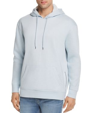PACIFIC & PARK SLUB SIDE ZIP HOODIE - 100% EXCLUSIVE