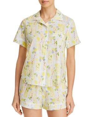 JANE & BLEECKER NEW YORK LEMONADE SHORT PAJAMA SET