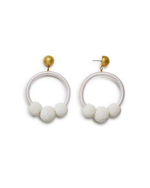 kate spade new york - Loop & Ball Statement Drop Earrings