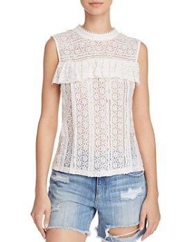 Endless Rose - Ruffled Lace Top