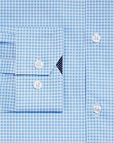 WRK - Gingham Diamond Slim Fit Dress Shirt