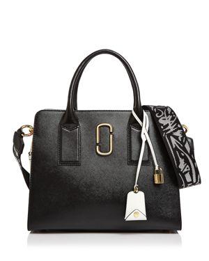 Marc Jacobs Big Shot Color Block Saffiano Leather Satchel 2628163
