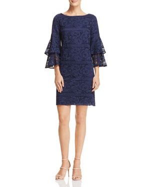 Eliza J Bell-Sleeve Lace Dress 2970339