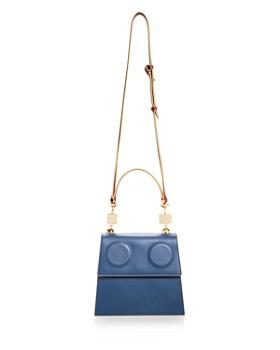 Marni - Medium Color-Block Leather Satchel