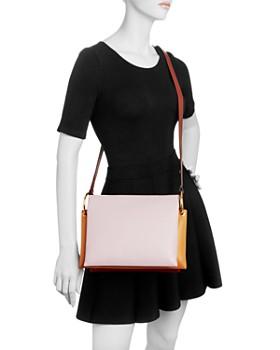 Marni - Color-Block Leather Shoulder Bag