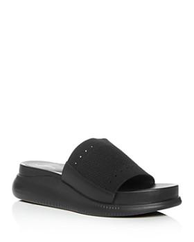 Cole Haan - Women's 2.Zerogrand Stitchlite Knit Platform Slide Sandals