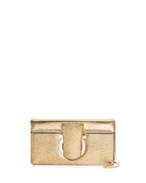 Salvatore Ferragamo Small Thalia Calfskin Shoulder Bag 2841638