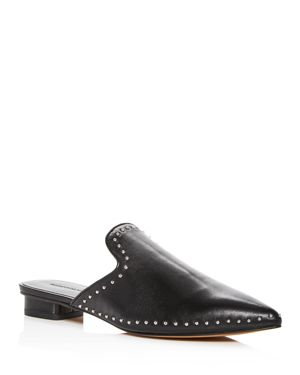 Rebecca Minkoff Women's Chamille Studded Leather Mules