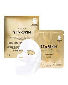 STARSKIN The Gold Mask VIP Revitalizing Luxury Bio-Cellulose Second Skin Face Mask - Bloomingdale's_0