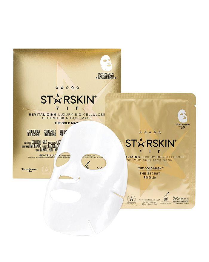 STARSKIN - The Gold Mask VIP Revitalizing Luxury Bio-Cellulose Second Skin Face Mask