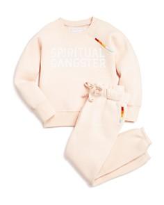 Spiritual Gangster Girls' Rainbow-Trimmed Sweatshirt & Sweatpants - Little Kid - Bloomingdale's_0