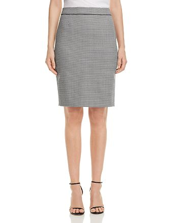 BOSS - Vorita Geo-Print Pencil Skirt