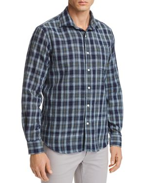 OOBE EXCELLA PLAID REGULAR FIT BUTTON-DOWN SHIRT