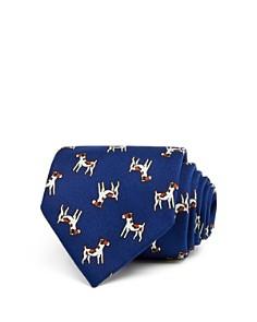 Drake's Dog Print Classic Tie - Bloomingdale's_0