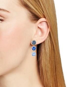 kate spade new york - Triple Stone Linear Drop Earrings