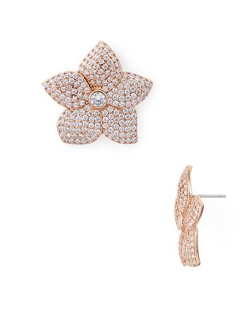 kate spade new york - Pavé Bloom Statement Earrings