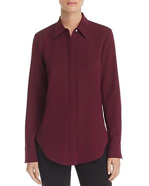 Theory Sunaya Crepe Shirt