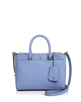 Tory Burch - Robinson Small Double Zip Leather Tote