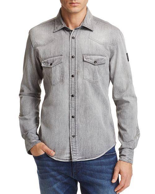 Belstaff - Somerford Regular Fit Button-Down Shirt