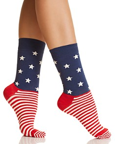 Happy Socks Americana Crew Socks - Bloomingdale's_0