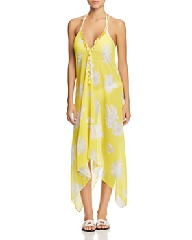 Ramy Brook - Kym Printed Dress Swim Cover-Up