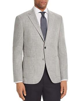 BOSS - Janson Regular Fit Hopsack Weave Sport Coat