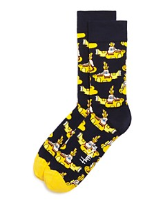 Happy Socks Yellow Submarine Socks - Bloomingdale's_0