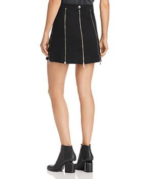 McQ Alexander McQueen - Zip-Detail Mini Skirt