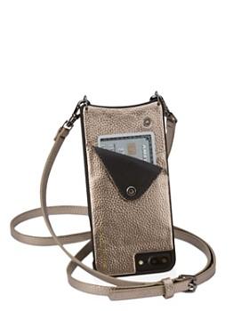 Bandolier - Emma Metallic Leather iPhone Crossbody