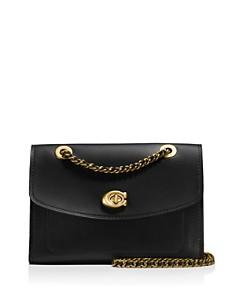 COACH Parker Leather Shoulder Bag - Bloomingdale's_0